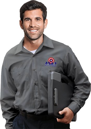 ASAP Repair Service Person On Mobile View